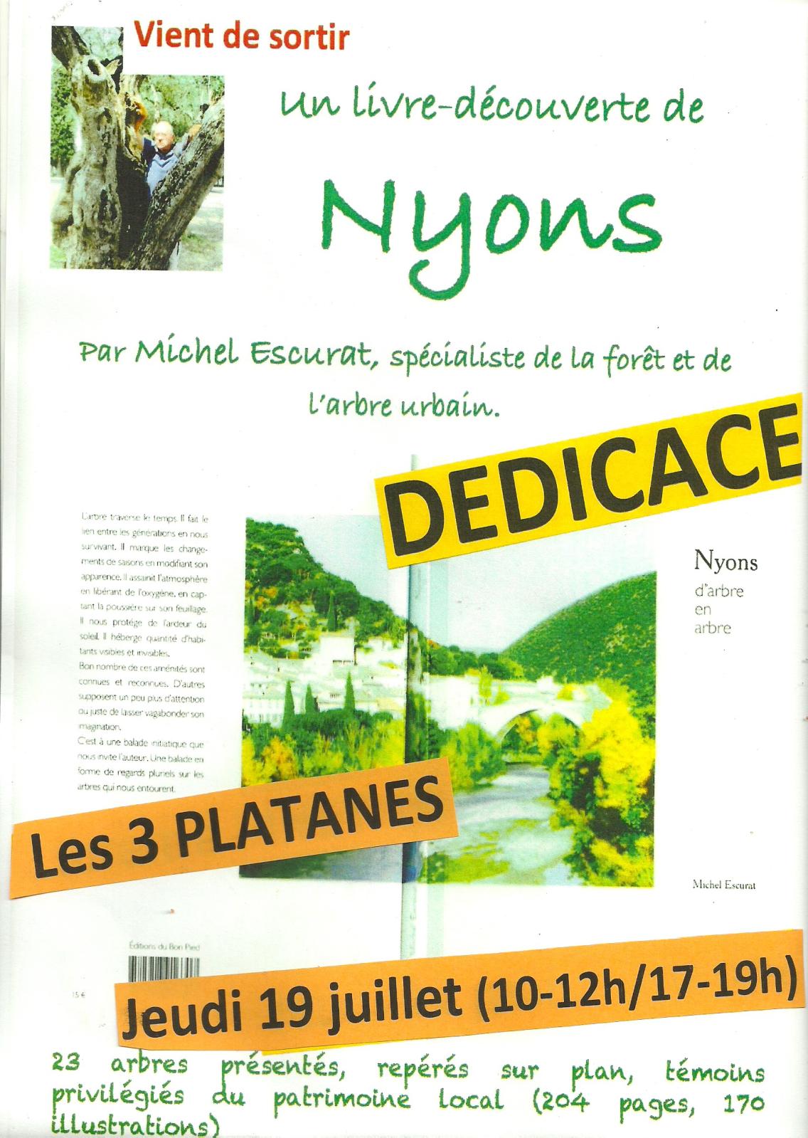 2018-Dédicaces 3 Platanes