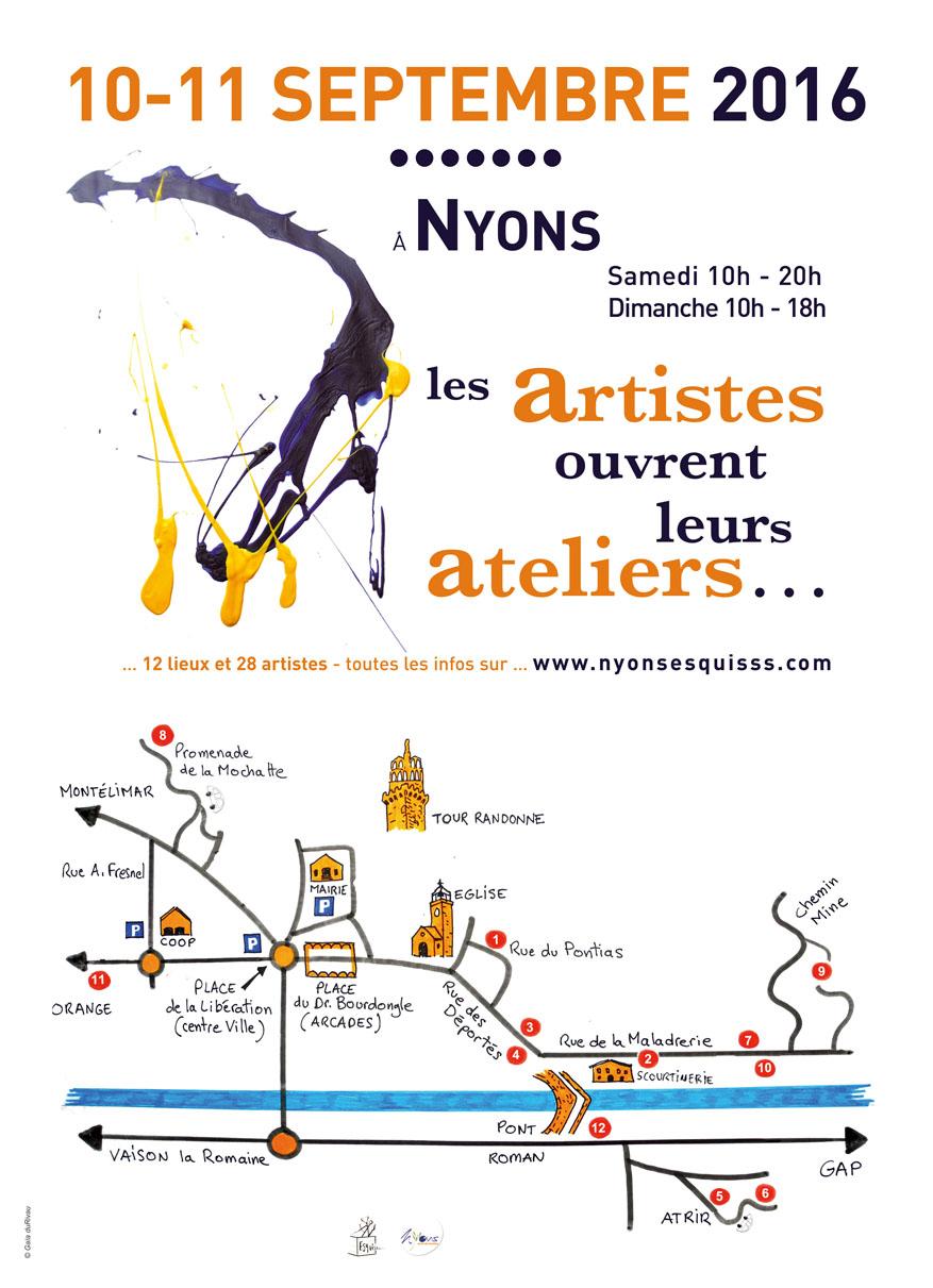 2016-Parcours ateliers artistes