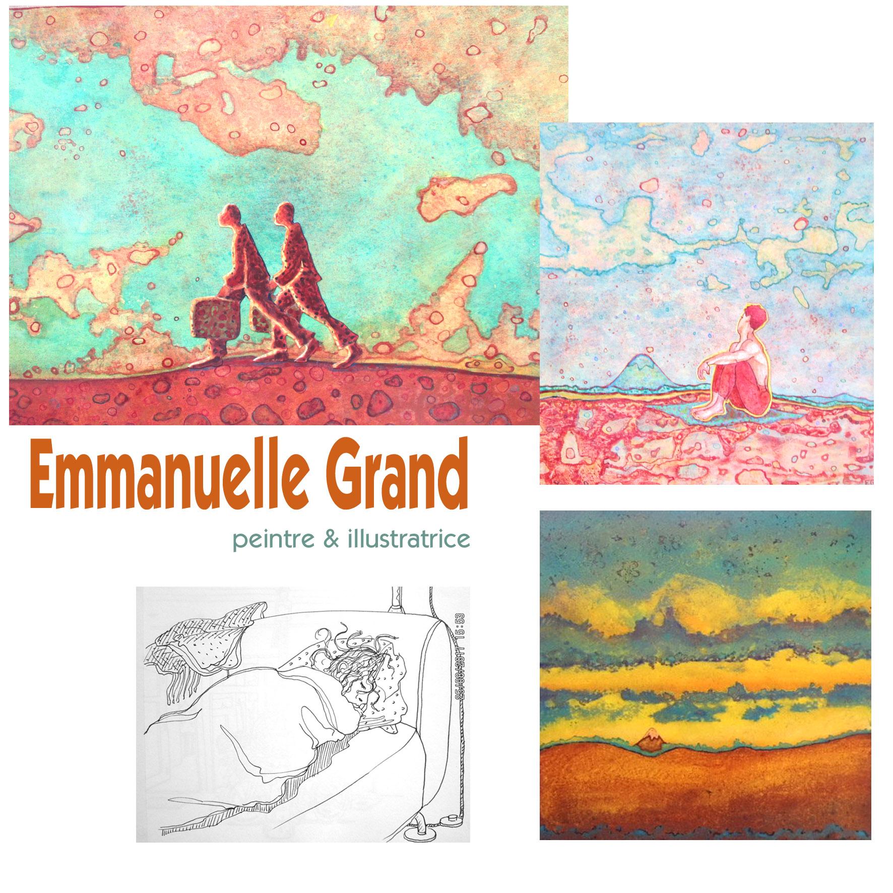 2018-Emmanuelle Grand Peintre & Illustratrice
